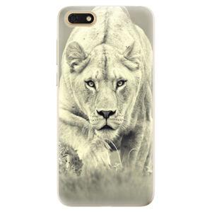 Odolné silikónové puzdro iSaprio - Lioness 01 - Huawei Honor 7S