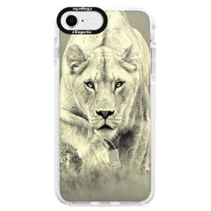 Silikónové puzdro Bumper iSaprio - Lioness 01 - iPhone SE 2020