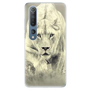 Odolné silikónové puzdro iSaprio - Lioness 01 - Xiaomi Mi 10 / Mi 10 Pro