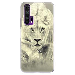 Odolné silikónové puzdro iSaprio - Lioness 01 - Honor 20 Pro