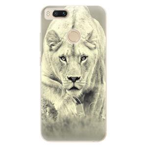 Odolné silikónové puzdro iSaprio - Lioness 01 - Xiaomi Mi A1