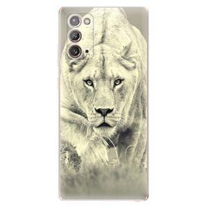 Odolné silikónové puzdro iSaprio - Lioness 01 - Samsung Galaxy Note 20
