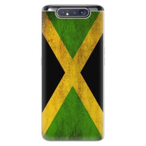 Odolné silikónové puzdro iSaprio - Flag of Jamaica - Samsung Galaxy A80