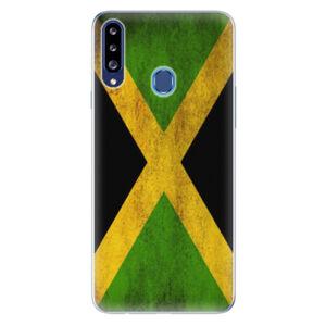 Odolné silikónové puzdro iSaprio - Flag of Jamaica - Samsung Galaxy A20s