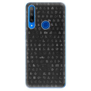 Odolné silikónové puzdro iSaprio - Ampersand 01 - Huawei Honor 9X