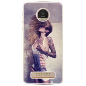 Plastové puzdro iSaprio - Girl 01 - Lenovo Moto Z Play