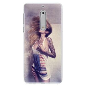 Plastové puzdro iSaprio - Girl 01 - Nokia 5