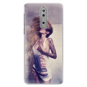 Plastové puzdro iSaprio - Girl 01 - Nokia 8