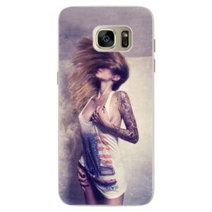 Silikónové puzdro iSaprio - Girl 01 - Samsung Galaxy S7 Edge