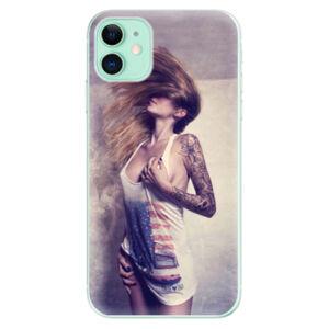 Odolné silikónové puzdro iSaprio - Girl 01 - iPhone 11
