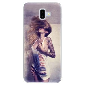 Odolné silikónové puzdro iSaprio - Girl 01 - Samsung Galaxy J6+