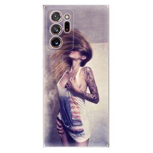 Odolné silikónové puzdro iSaprio - Girl 01 - Samsung Galaxy Note 20 Ultra