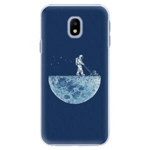 Plastové puzdro iSaprio - Moon 01 - Samsung Galaxy J3 2017