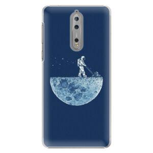 Plastové puzdro iSaprio - Moon 01 - Nokia 8