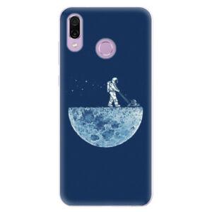 Silikónové puzdro iSaprio - Moon 01 - Huawei Honor Play
