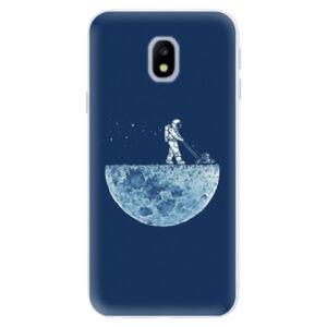 Silikónové puzdro iSaprio - Moon 01 - Samsung Galaxy J3 2017
