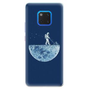 Silikónové puzdro iSaprio - Moon 01 - Huawei Mate 20 Pro