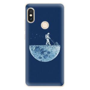 Silikónové puzdro iSaprio - Moon 01 - Xiaomi Redmi Note 5