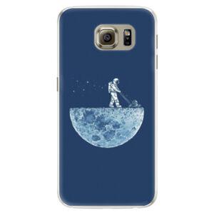 Silikónové puzdro iSaprio - Moon 01 - Samsung Galaxy S6