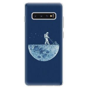 Plastové puzdro iSaprio - Moon 01 - Samsung Galaxy S10+