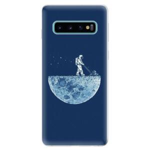 Odolné silikonové pouzdro iSaprio - Moon 01 - Samsung Galaxy S10