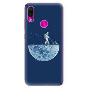 Odolné silikonové pouzdro iSaprio - Moon 01 - Xiaomi Redmi Note 7