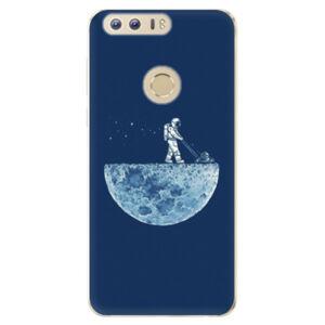 Odolné silikónové puzdro iSaprio - Moon 01 - Huawei Honor 8