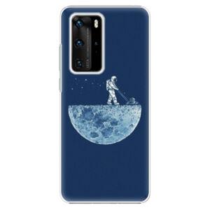 Plastové puzdro iSaprio - Moon 01 - Huawei P40 Pro