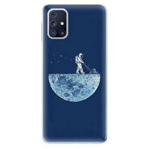 Odolné silikónové puzdro iSaprio - Moon 01 - Samsung Galaxy M31s