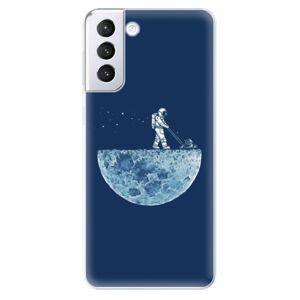 Odolné silikónové puzdro iSaprio - Moon 01 - Samsung Galaxy S21+