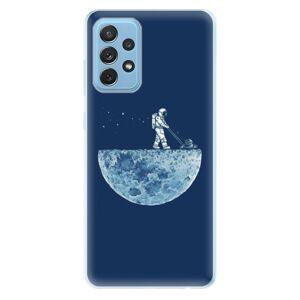 Odolné silikónové puzdro iSaprio - Moon 01 - Samsung Galaxy A72