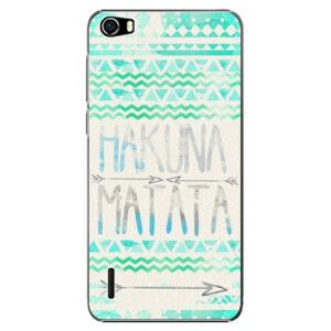 Plastové puzdro iSaprio - Hakuna Matata Green - Huawei Honor 6