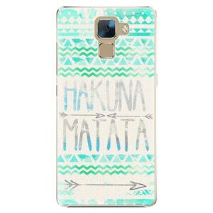 Plastové puzdro iSaprio - Hakuna Matata Green - Huawei Honor 7