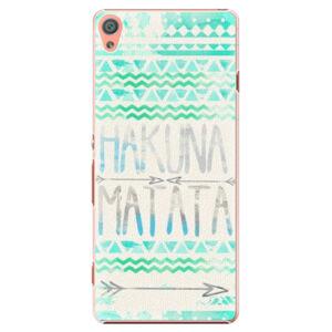 Plastové puzdro iSaprio - Hakuna Matata Green - Sony Xperia XA