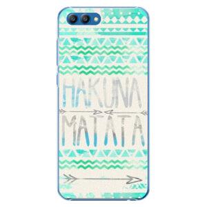 Plastové puzdro iSaprio - Hakuna Matata Green - Huawei Honor View 10