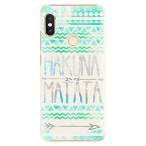 Plastové puzdro iSaprio - Hakuna Matata Green - Xiaomi Redmi Note 5