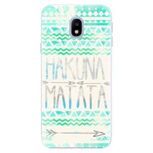Silikónové puzdro iSaprio - Hakuna Matata Green - Samsung Galaxy J3 2017