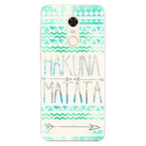 Silikónové puzdro iSaprio - Hakuna Matata Green - Xiaomi Redmi 5 Plus