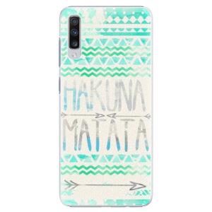 Plastové puzdro iSaprio - Hakuna Matata Green - Samsung Galaxy A70