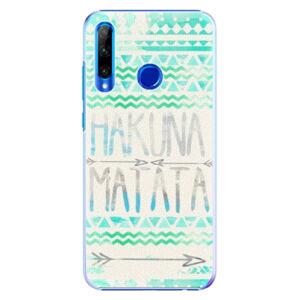 Plastové puzdro iSaprio - Hakuna Matata Green - Huawei Honor 20 Lite