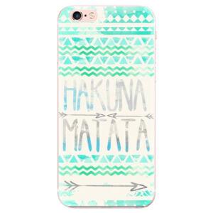 Odolné silikónové puzdro iSaprio - Hakuna Matata Green - iPhone 6 Plus/6S Plus