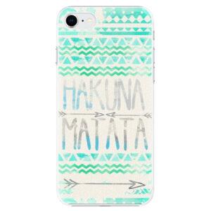 Plastové puzdro iSaprio - Hakuna Matata Green - iPhone SE 2020