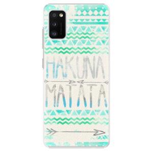 Plastové puzdro iSaprio - Hakuna Matata Green - Samsung Galaxy A41