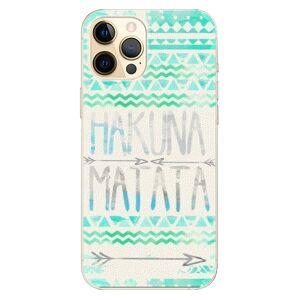 Plastové puzdro iSaprio - Hakuna Matata Green - iPhone 12 Pro Max