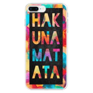 Plastové puzdro iSaprio - Hakuna Matata 01 - iPhone 8 Plus