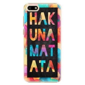 Plastové puzdro iSaprio - Hakuna Matata 01 - Huawei Y5 2018