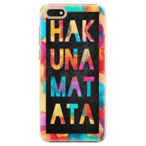 Plastové puzdro iSaprio - Hakuna Matata 01 - Huawei Honor 7S