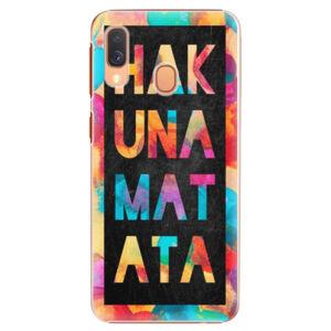 Plastové puzdro iSaprio - Hakuna Matata 01 - Samsung Galaxy A40