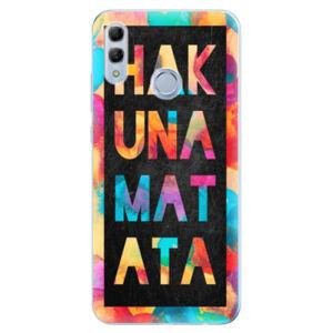 Odolné silikonové pouzdro iSaprio - Hakuna Matata 01 - Huawei Honor 10 Lite