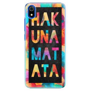 Plastové puzdro iSaprio - Hakuna Matata 01 - Xiaomi Redmi 7A